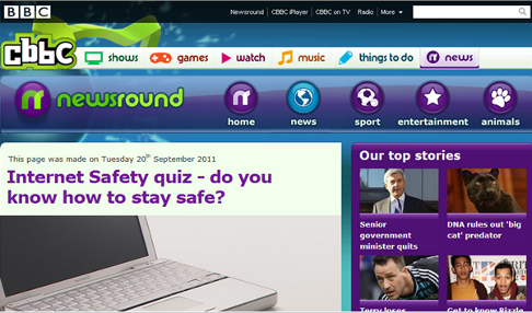 Or take a look at this advice from the BBC Newsround Team